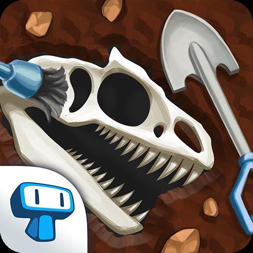 تحميل لعبه Dino Quest - Dinosaur Discovery and Dig Game مهكره اخر اصدار