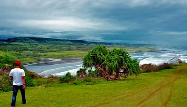 Wisata Pantai Puncak Guha Garut