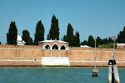 San Michele Cemetery - Venice, Italy