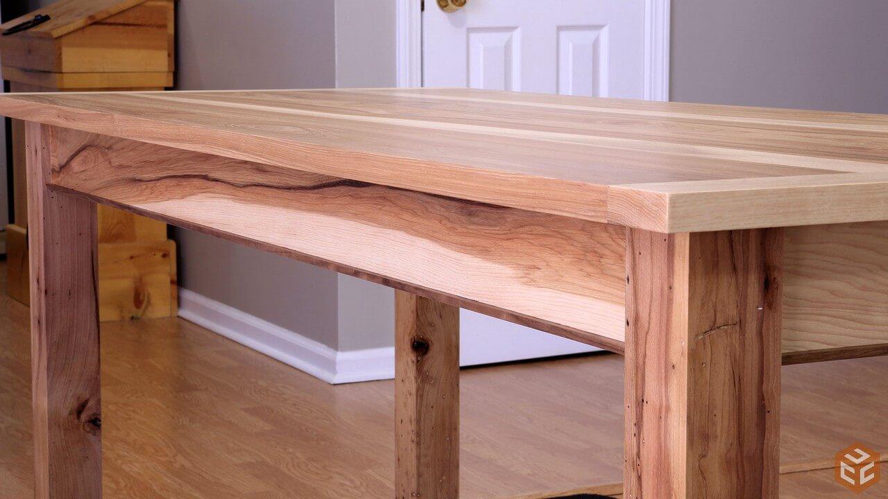 30 mesas de madera que puedes hacer tú mismo (DIY) para el comedor ...