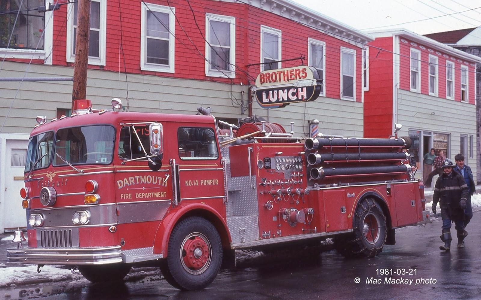 Used International Trucks >> Truckfax: Dartmouth Fire Department
