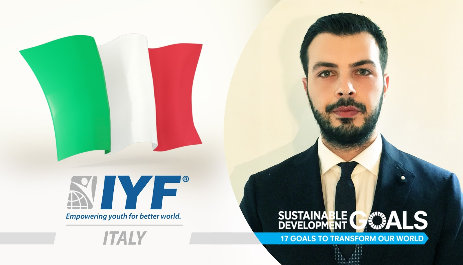 Angelo Ferro, IYF Representative in Italy