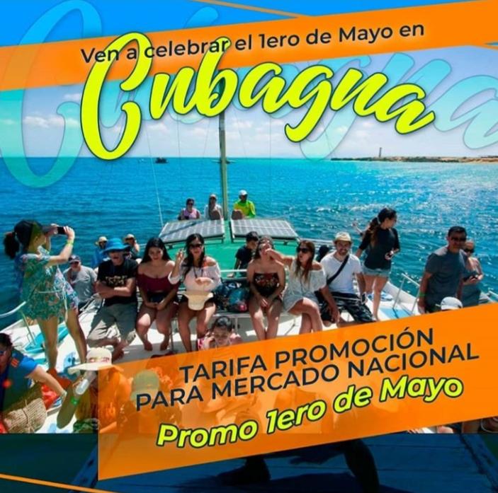 imagen 01 de mayo  promo full day cubagua