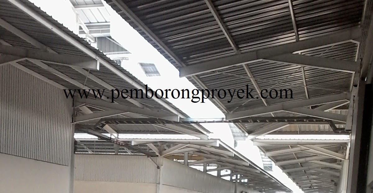 Rangka Atap Baja Ringan Setengah Kuda Jasa Kontraktor Konstruksi Pabrik Gudang Rumah Murah ...