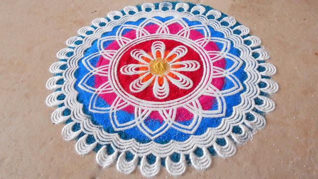 Rangoli Design For Diwali 2016