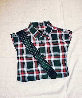 male plaid fashion