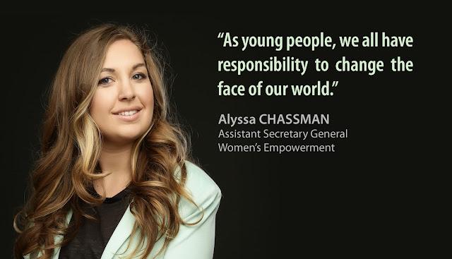Alyssa CHASSMAN, ASG Women's Empowerment