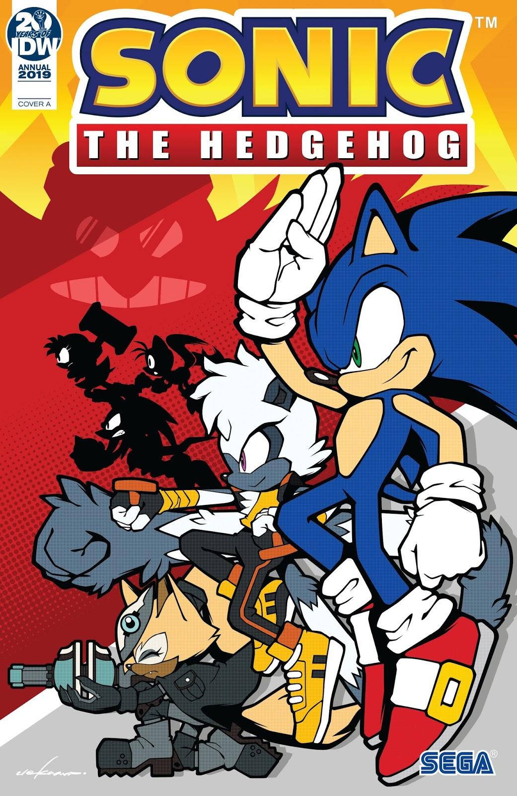 """Actualización 19/05/2019: Número 16 y el anual 2019 por Rinoa83 para The Tails Archive y La casita de Amy Rose. """" ¡Infección!"""" Sonic ha sido infectado con un nuevo virus misterioso y su velocidad parece ser su única salvación. ¿Sonic, Tails y Tangle pueden vencer la enfermedad antes de que Sonic sea vencido? ¿Y quiénes serán las próximas víctimas del virus? Y festejamos el primer año de Sonic en IDW con un anual, en el mundo de Sonic, la aventura te espera en cada esquina, ¡pero incluso el erizo más rápido del mundo no puede estar en el centro de todo! Únete a Sonic y a algunos de sus mejores amigos en aventuras que muestran lo maravilloso que es el mundo de Sonic."""