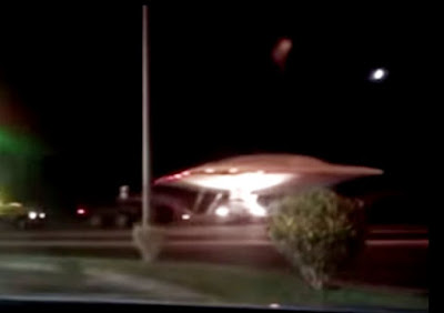 Il presunto UFO filmato vicino all'Area 51