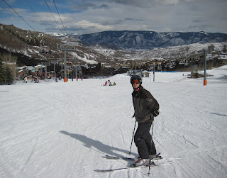 Craig is ready to ski Snowmass