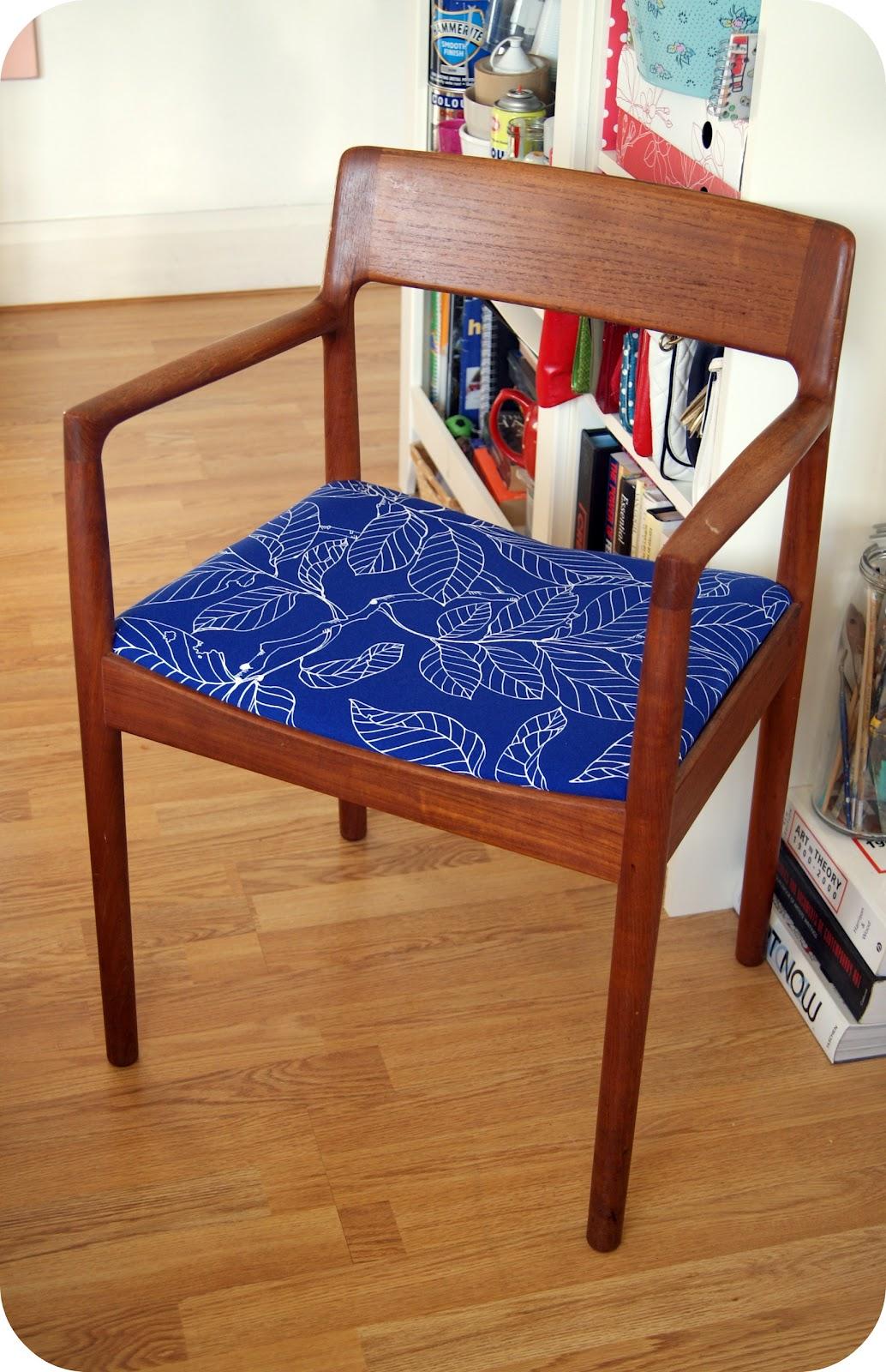 Vintage Chair Makeover Burkatron