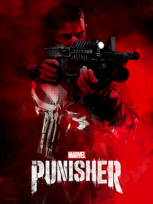 Marvel's The Punisher Netflix Series Screen Print by Jock x Mondo