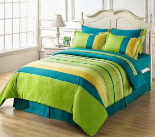 Superior 160 TC Cotton Double Bedsheet with 2 Pillow Covers - Multicolour