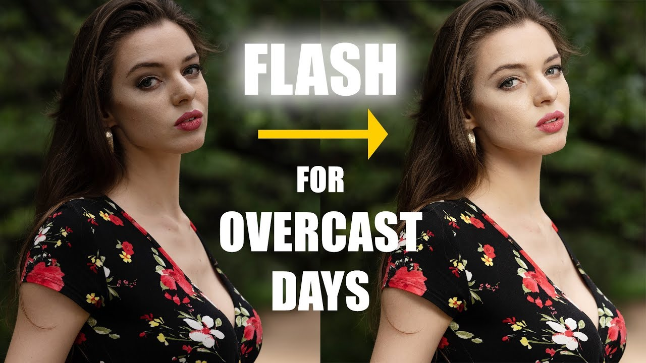 Using Flash for Better Portraits on Overcast Days
