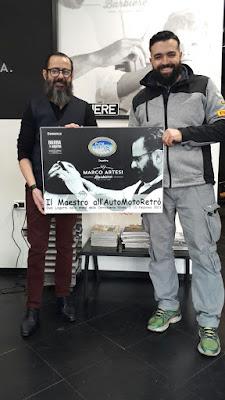 Marco Artesi Barbiere per Nixsa