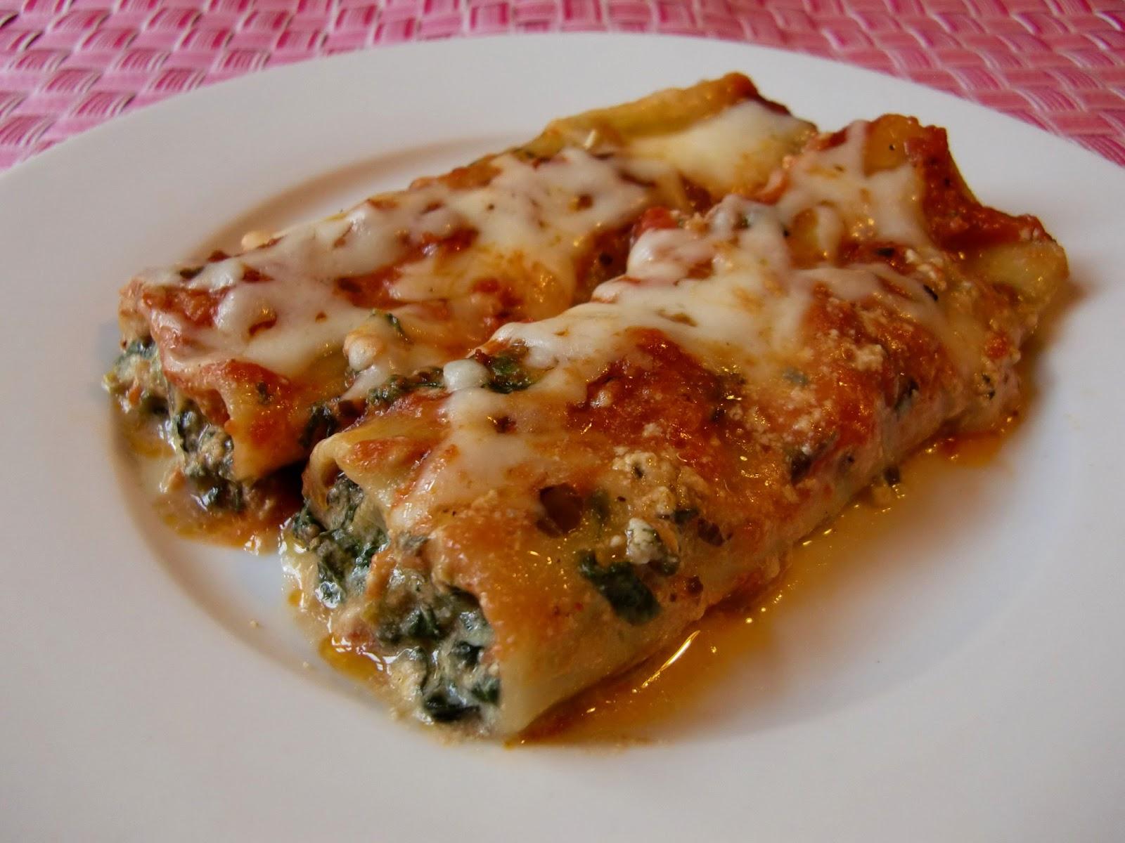 Rezept Cannelloni mit Ricotta-Spinat-Gorngonzola