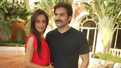 अभिनेता अरबाज़ खान और अभिनेत्री मलाइका अरोड़ा खान