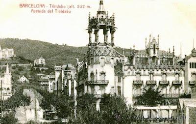 Imatge de la Rotonda al 1925