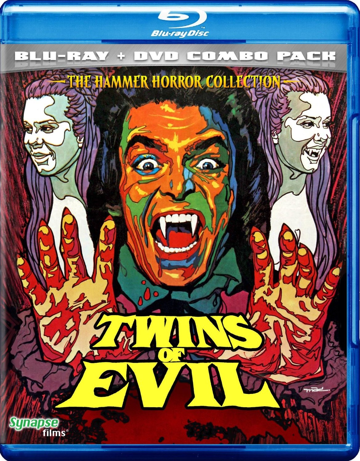 BRITISH CULT CLASSICS  Twins of Evil - Blu-Ray   DVD Dual Edition   Review afe40acce