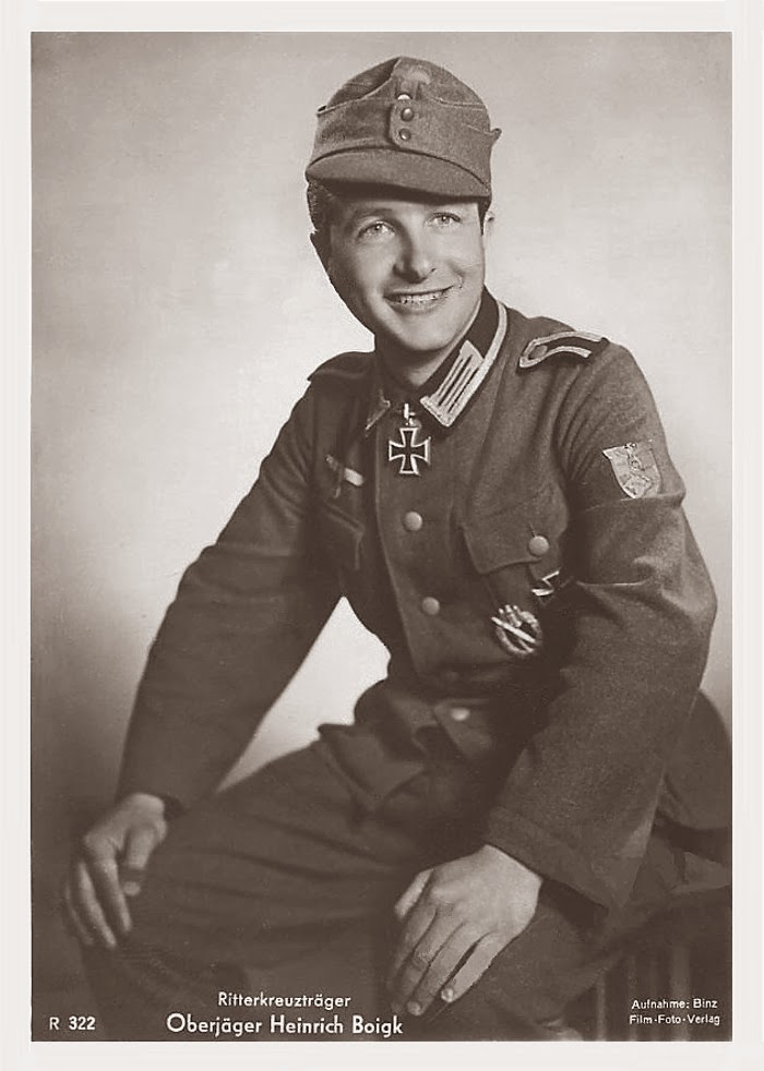 Heinrich Boigk Ritterkreuzträger Knight Cross Holder Postcard
