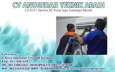 CV ATA I Service AC Putat Jaya Surabaya Murah