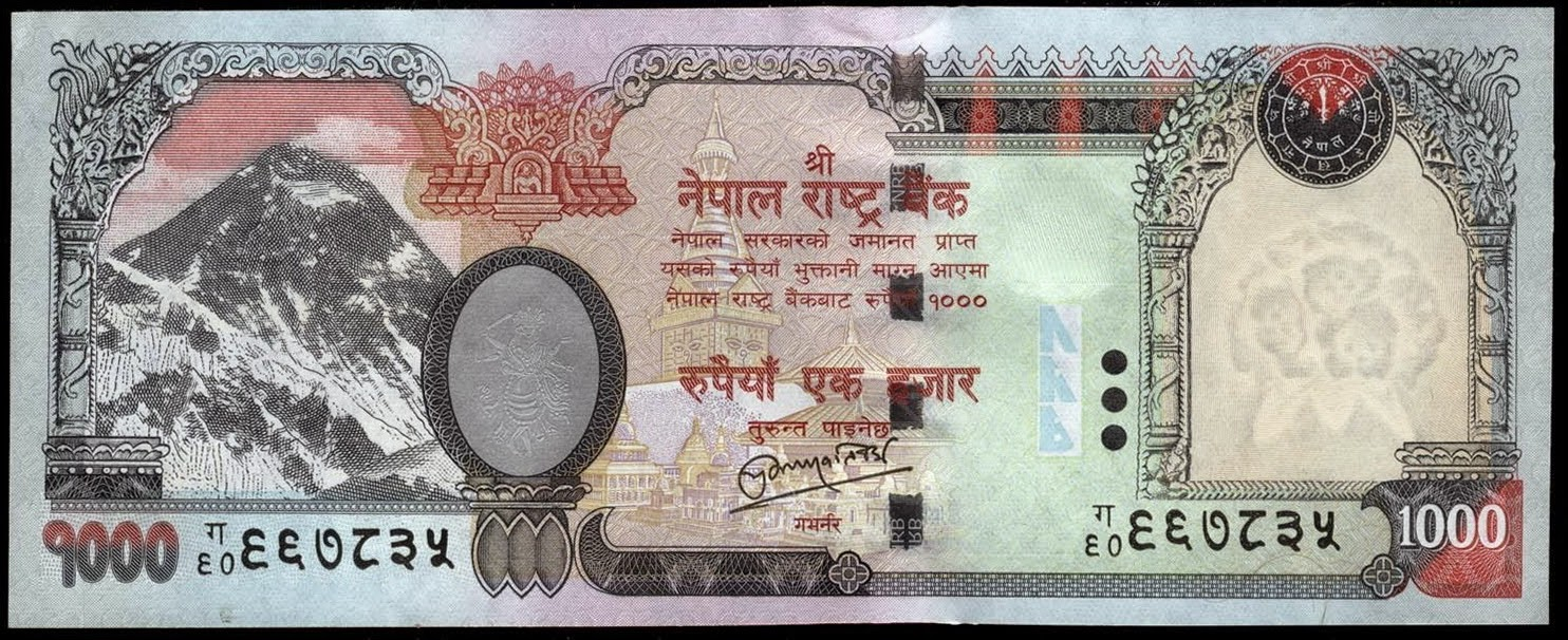 You Must Have Noticed That All Nepali Bank Notes In Circulation Contain Pictures Of Animals