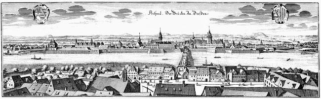 Matthäus Merian - Dresden (c.1650)