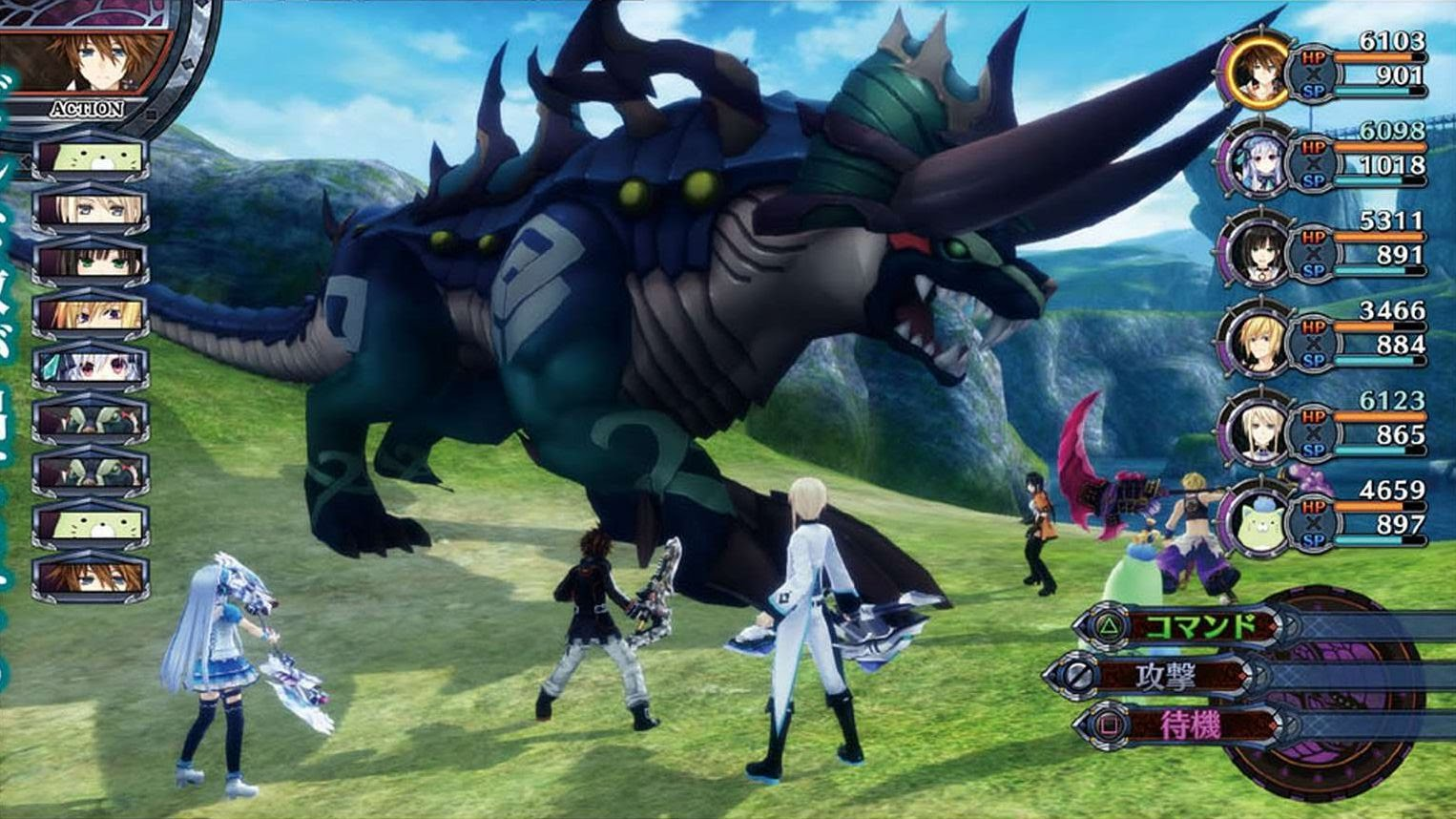 Anime Characters Games : Fairy fencer f pc games include all dlc update anime