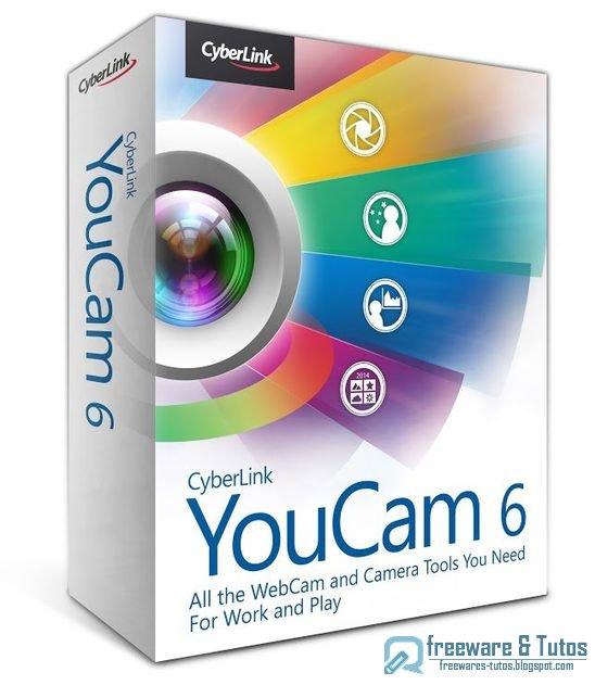 Offre promotionnelle : CyberLink YouCam 6 gratuit !