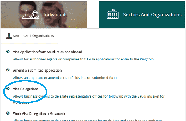 How to Check Saudi Visa Delegation Agent name of your country-min