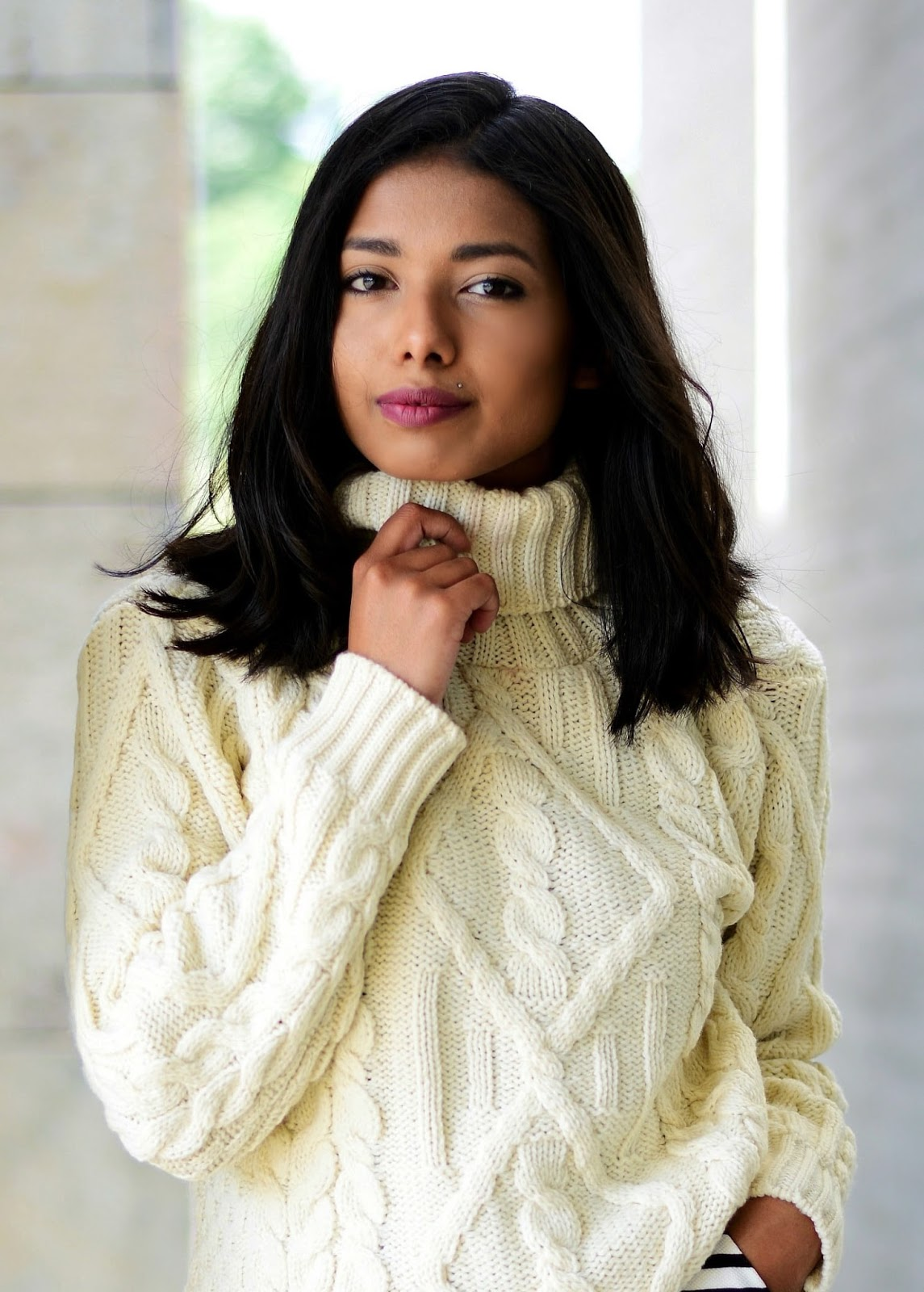 Best way to style a sweater this Fall