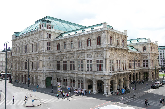 Vista dall'Albertina-Vienna