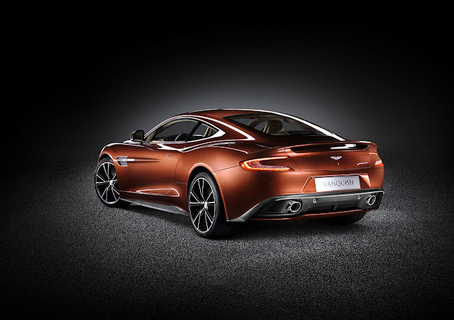 Aston Martin new Vanquish back side