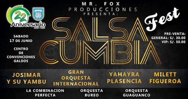 Salsa y Cumbia en Arequipa