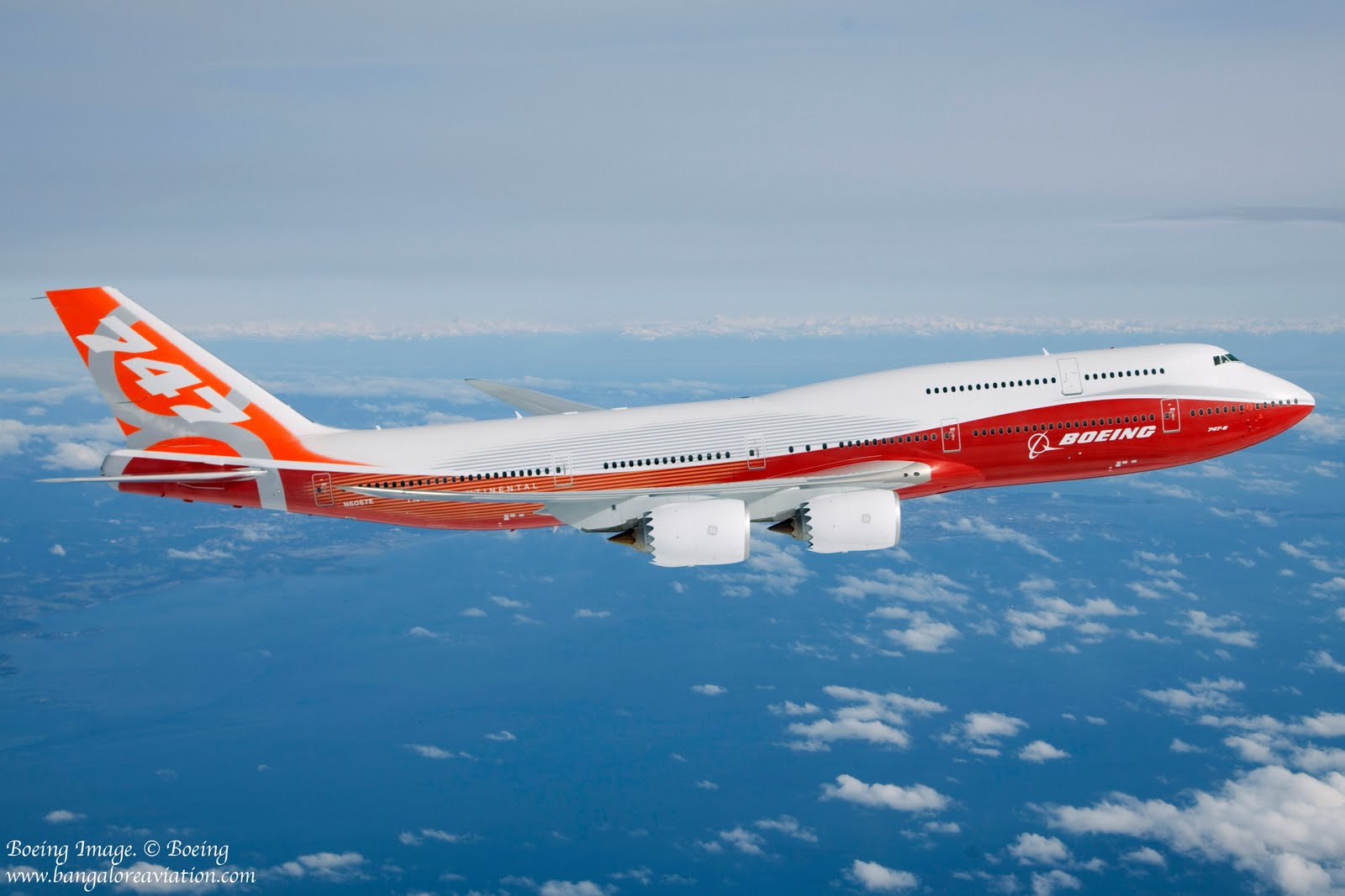 Interior Design Bangalore Boeing Completes The First Flight Of Its 747 8