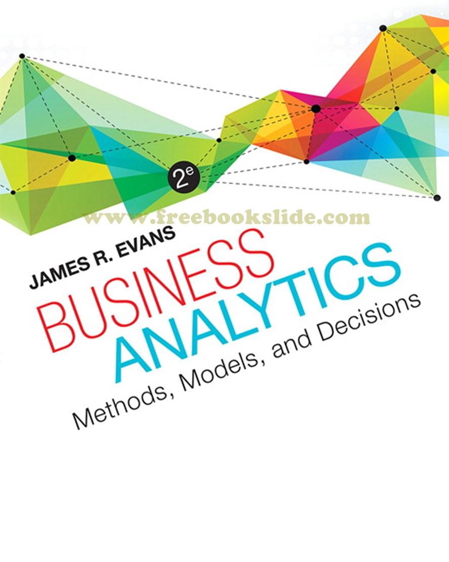 Business Analytics 2e by Evans