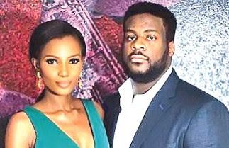 Agbani and Hubby Ishaya Danjuma