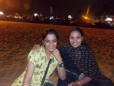 Namitha Pramod with her Indu
