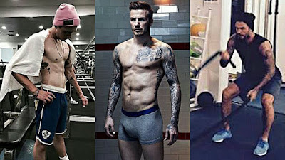 Ex Personal Instructor Beckham Shares Fitness Tips at Home