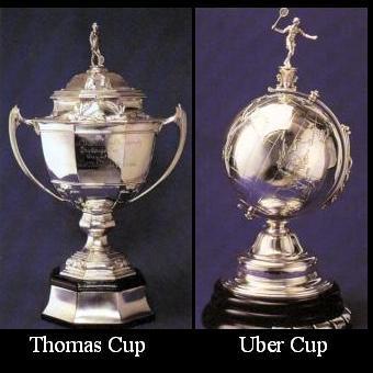Piala Thomas Cup dan Uber Cup
