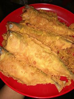 Resepi Ikan Celup Tepung Terengganu