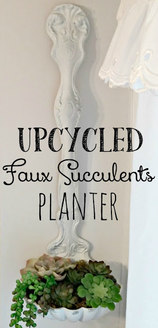 How to make a faux succulent planter