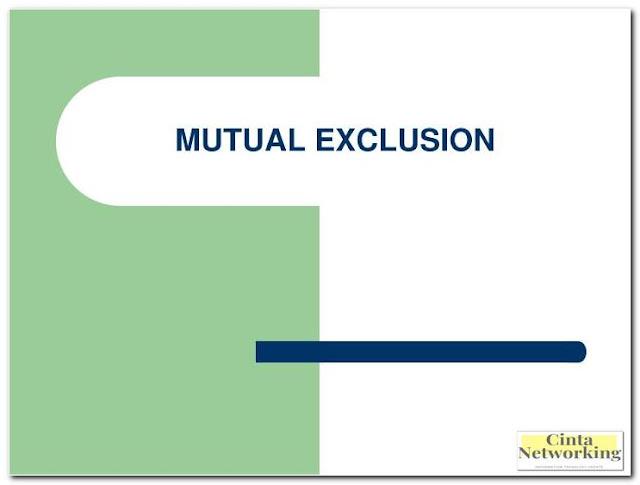 Metode Pеmbеntukаn Mutual Exclusion Pada Sistem Operasi - Cintanetworking.com
