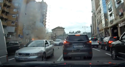 У центрі Києва вибухнув автомобіль із грузинським громадянином