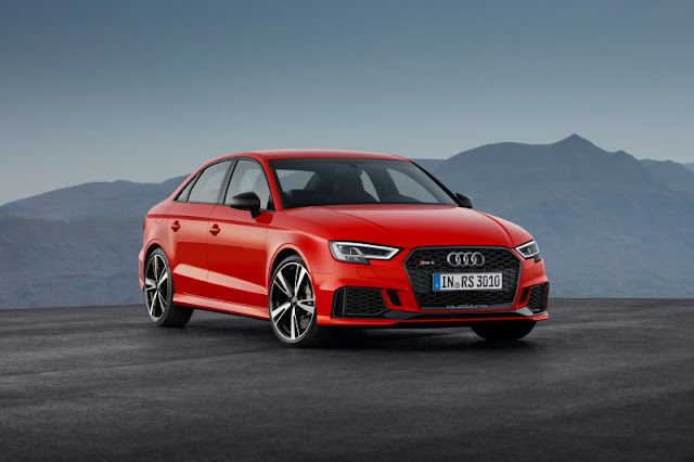 The Audi RS3 Sedan Is Official And It Has 400 Horsepower