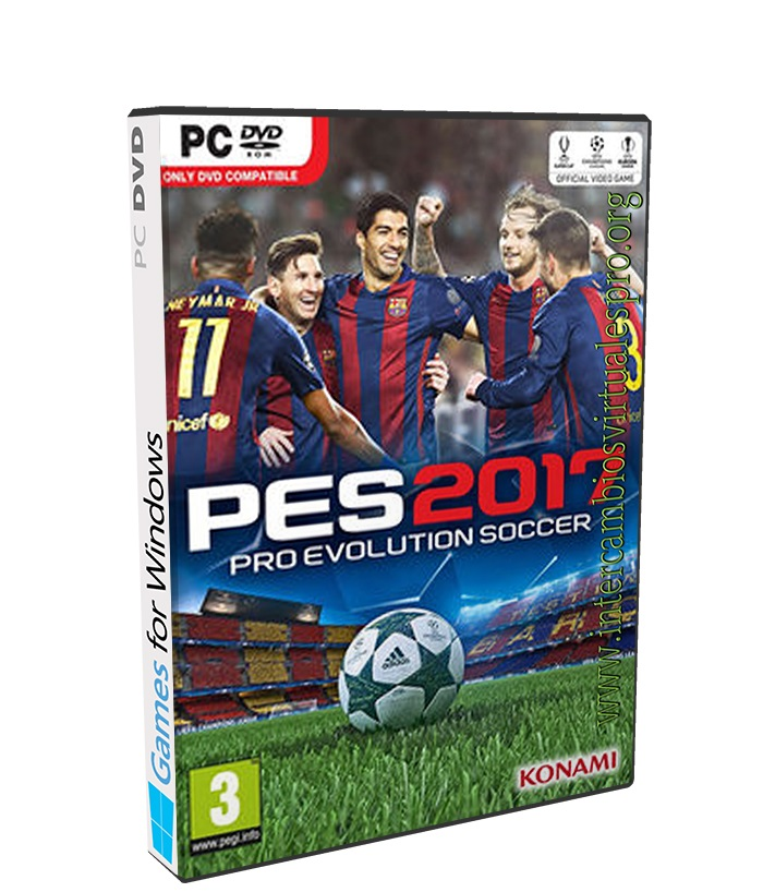 Pro Evolution Soccer 2017 poster box cover
