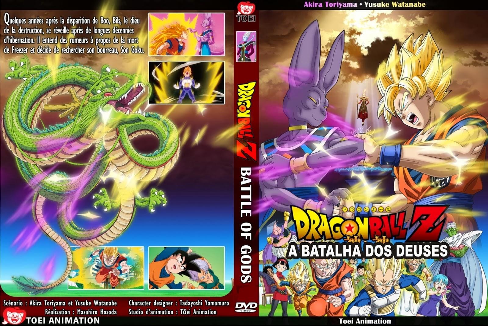 dragon ball z a batalha dos deuses dublado avi