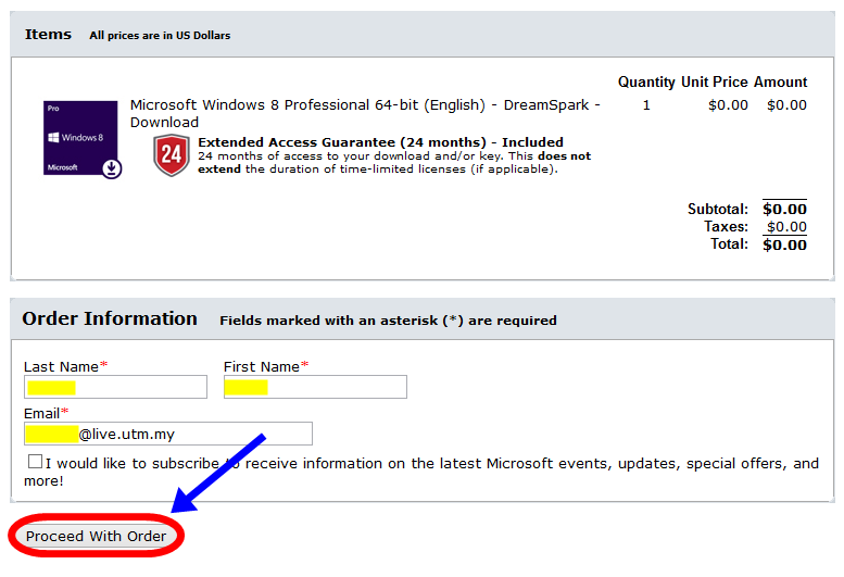 "How to get ""license key"" Windows 8 for UTM students ..."