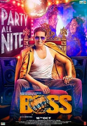 Boss (2013) Movie Poster