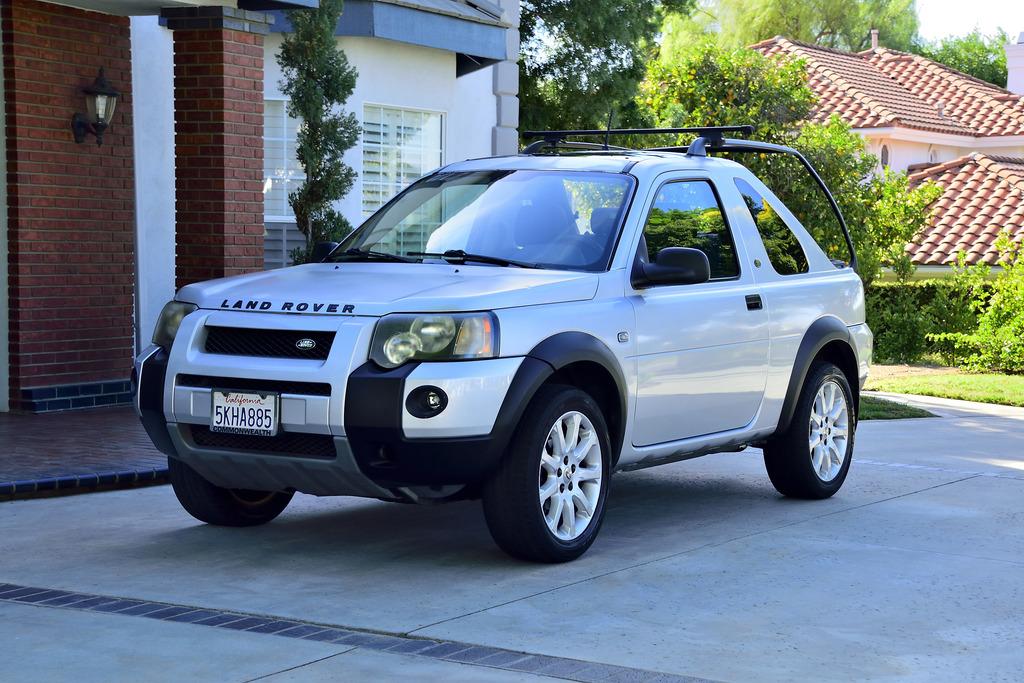 just a car geek: 2004 land rover freelander soft top - a very cool